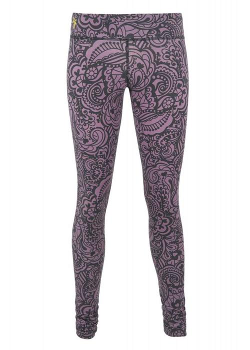 Urban Goddess Urban Goddess Anjali Yoga Leggings - Jungle Orchid