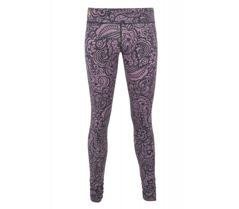 Urban Goddess Anjali Yoga Leggings - Jungle Orchid