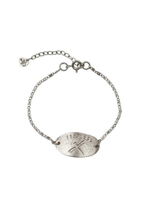 A Beautiful Story A Beautiful Story Wish Dragonfly Silver Bracelet