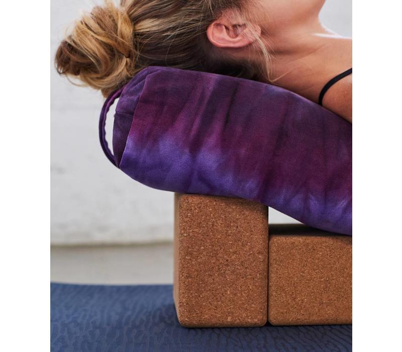 Manduka Yoga Bolster Rectangular - Indulge Hand Dye
