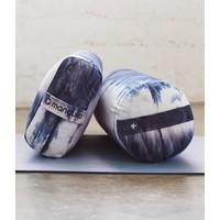 Manduka Yoga Bolster Rectangular - Midnight Hand Dye