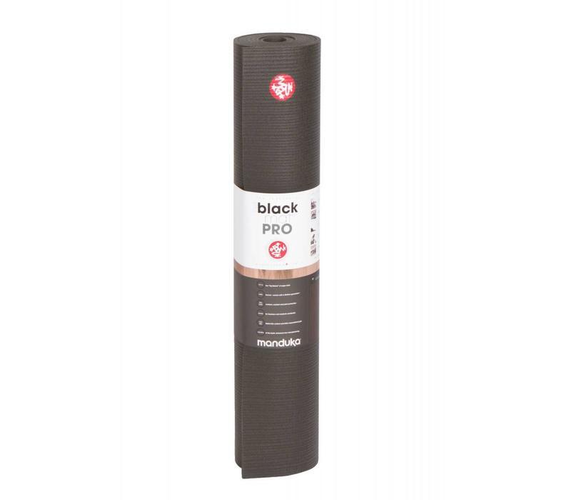 Manduka Pro Yoga Mat 215cm 66cm 6mm - Black