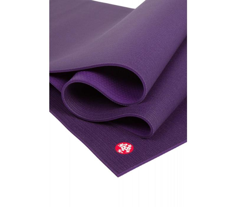 Manduka Pro Yoga Mat 216cm 66cm 6mm - Black Magic