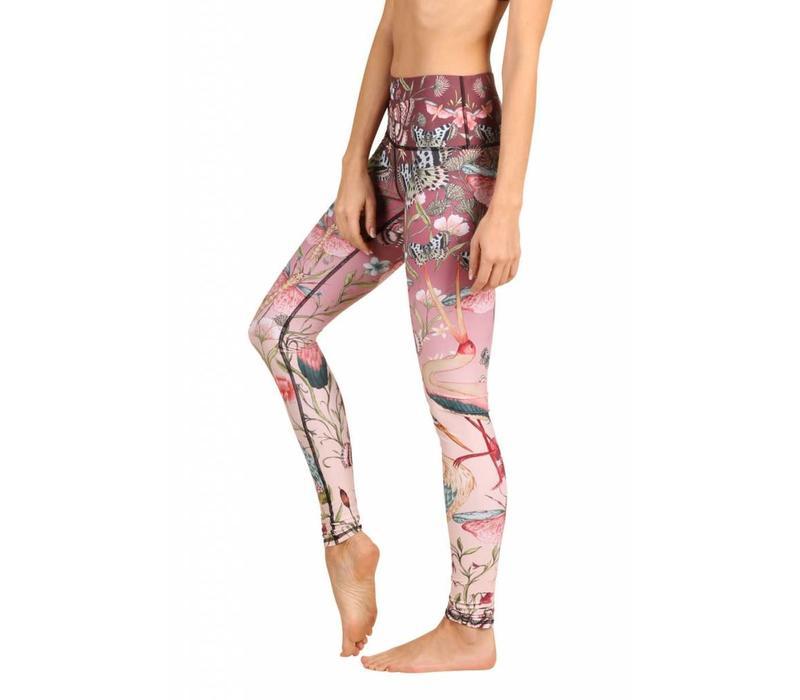 Yoga Democracy Yoga Legging - Pretty In Pink