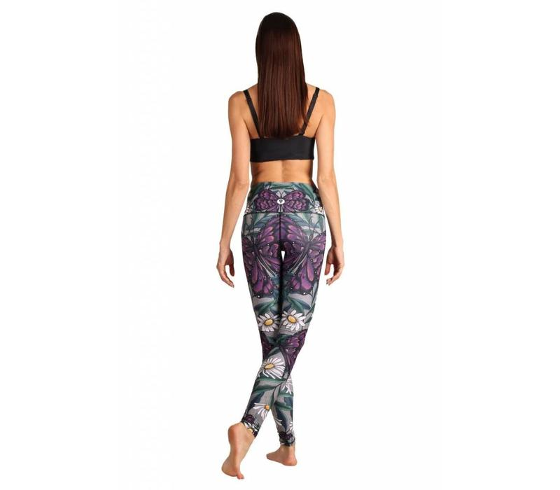 Yoga Democracy Yoga Legging - Daisy Days