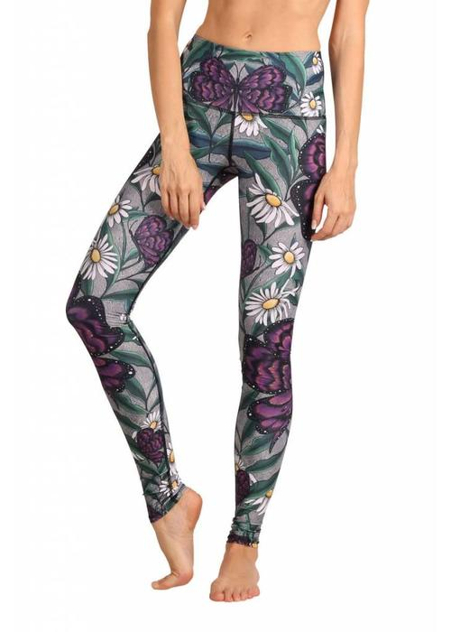 Yoga Democracy Yoga Democracy Yoga Legging - Daisy Days