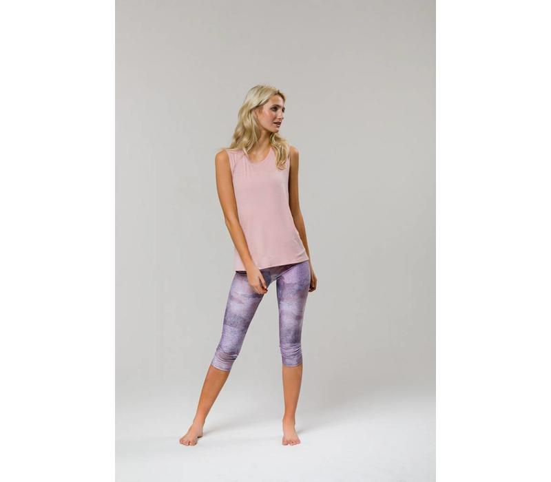 Onzie Twist Back Top - Blush