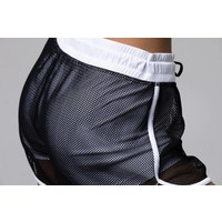 Onzie Mesh 2 In 1 Short - White