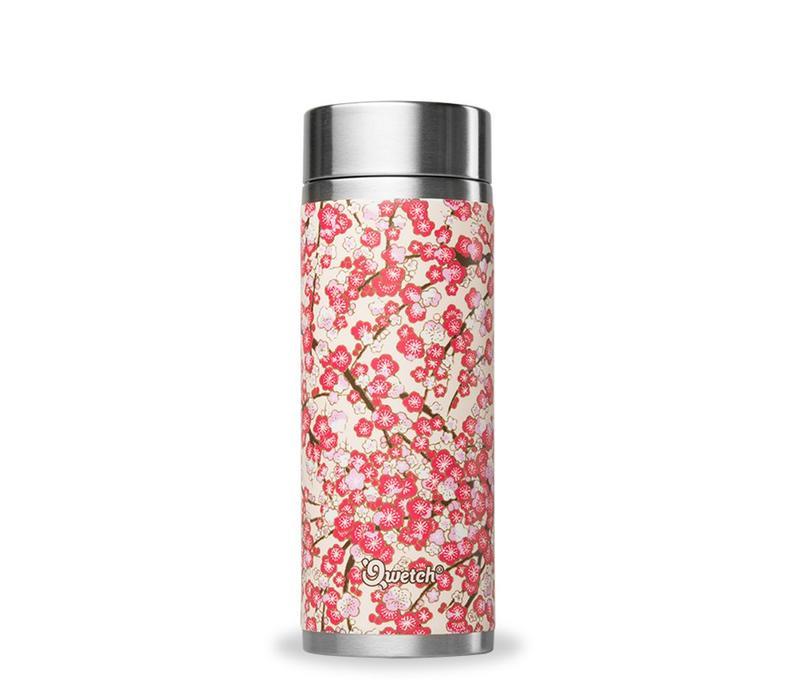 Qwetch Thee Thermos Sakura Collectie - Washi White/Red