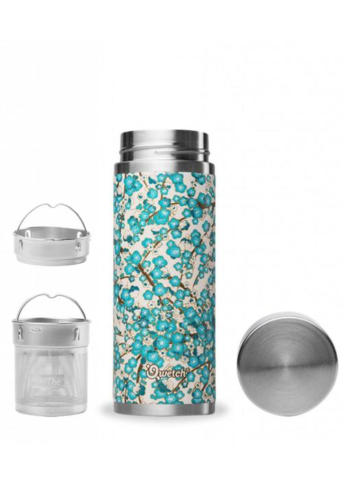 Qwetch Qwetch Tea Thermos Sakura Collection - Washi White/Blue