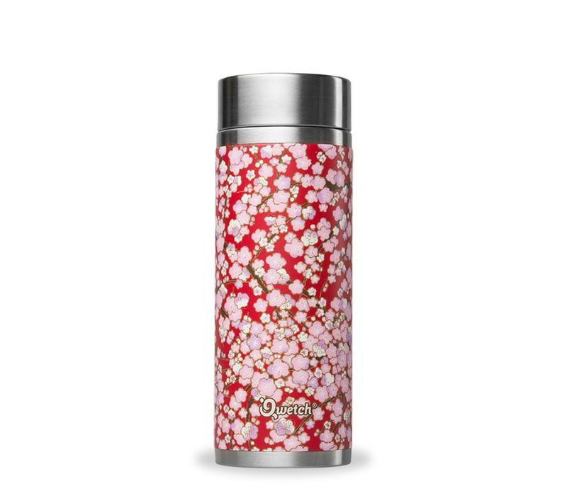 Qwetch Thee Thermos Sakura Collectie - Washi Red/Pink