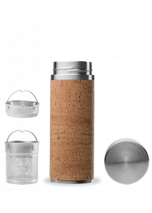 Qwetch Qwetch Tea Travel Thermos - Cork Collection