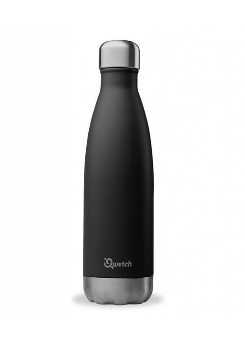 Qwetch Qwetch Insulated Bottle 500ml - Black