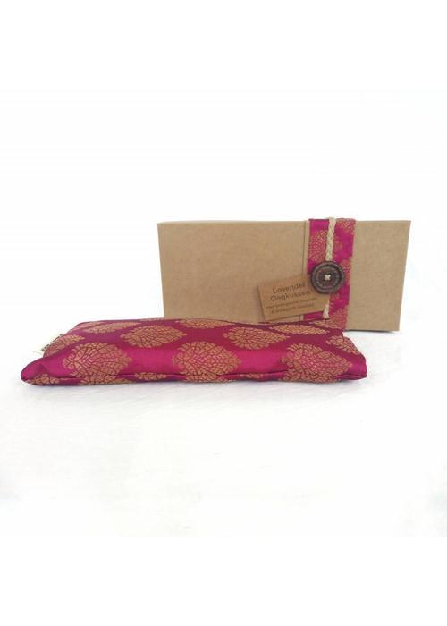 Kusala Kusala Eye Pillow Silk - Aubergine