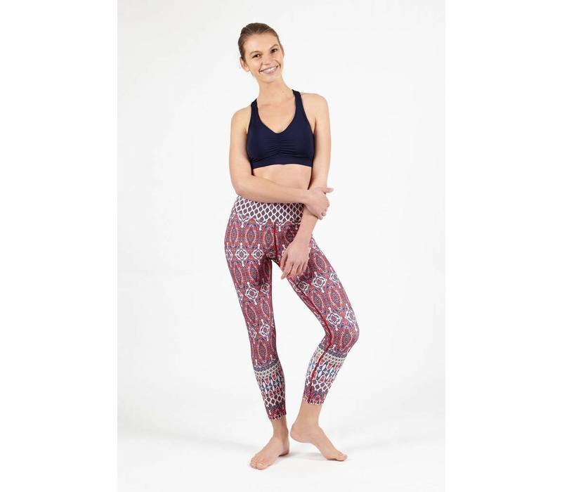 Dharma Bums 7/8 Yoga Legging - Spice Market