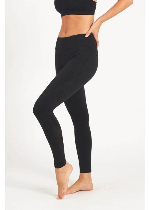 Dharma Bums Dharma Bums Yoga Legging - Plain Black