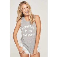 Spiritual Gangster Kindness Is G Muscle Tank - Heather Grey