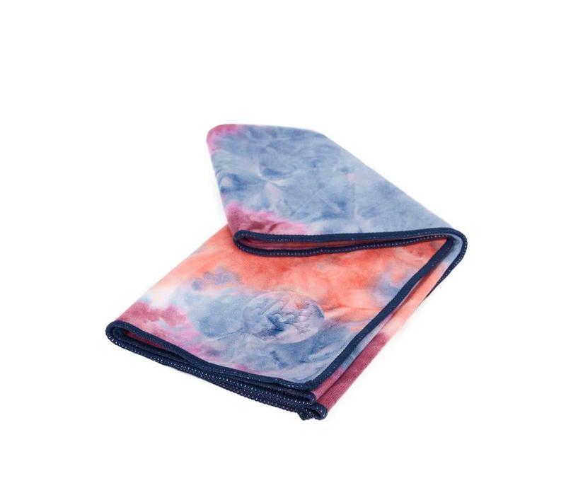 Manduka eQua Hand Yoga Towel 40cm 67cm - Ammonite Hand Dye