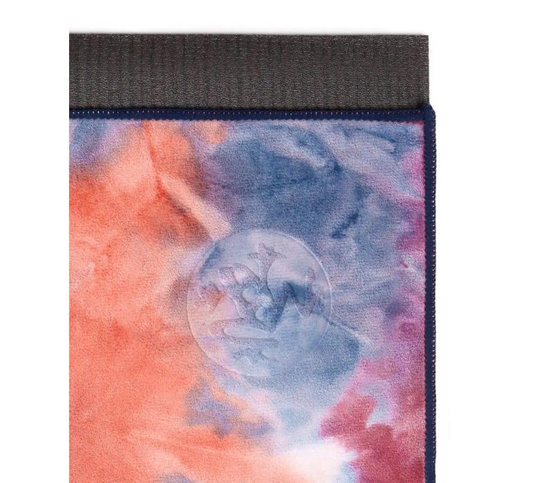 Manduka eQua Handdoek 40cm 67cm - Ammonite Hand Dye