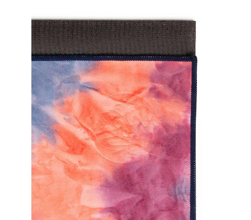 Manduka eQua Towel 182cm 67cm - Ammonite Hand Dye