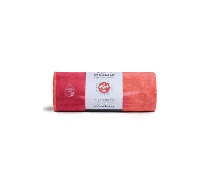 Manduka eQua Yoga Towel 182cm 67cm - Hermosa Hand Dye