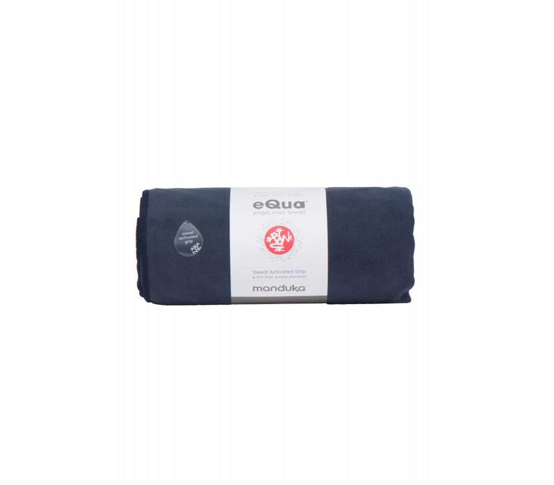 Manduka eQua Yoga Towel 182cm 67cm - Midnight