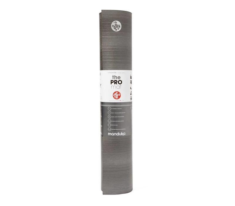 Manduka Pro Yoga Mat 215cm 66cm 6mm - Chromite
