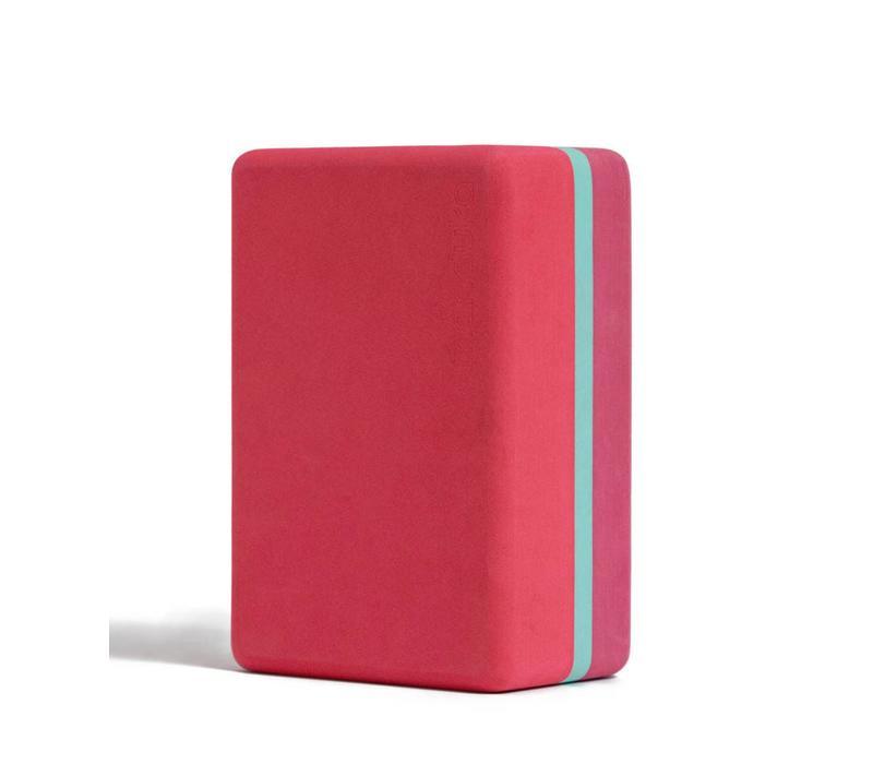 Manduka Recycled Foam Yoga Block 3-Tone - Hermosa