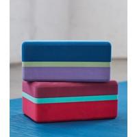 Manduka Recycled Foam Yoga Blok 3-Tone - Maldive