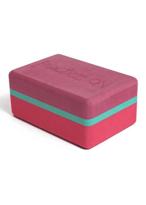 Manduka Manduka Recycled Foam Yoga Block 3-Tone - Hermosa