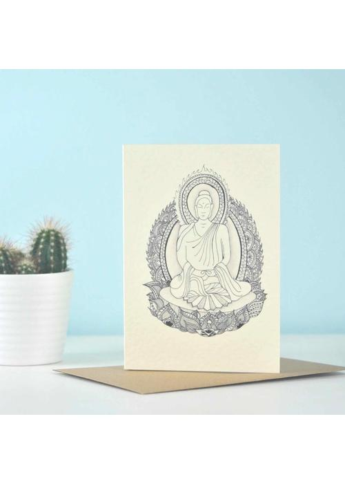 Eastern Promise Yoga Postcard - Amitabha 'the Buddha of 'Infinite Light'