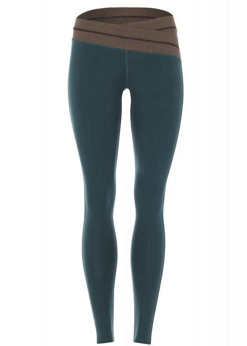 Mandala Mandala Work Out Legging - Aviator Green