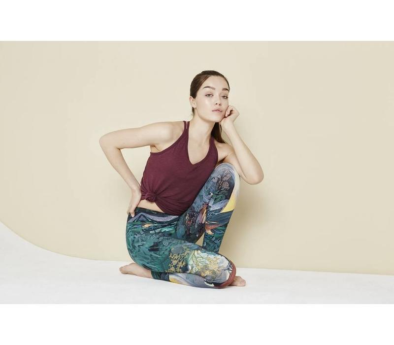 Mandala Printed Legging - Tranquil