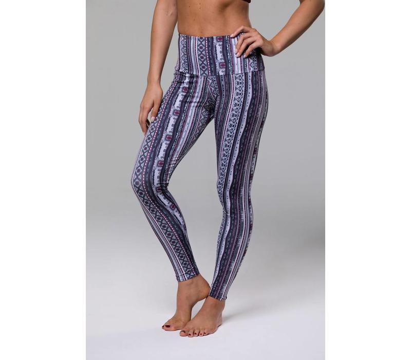 Onzie High Rise Legging - Tribe