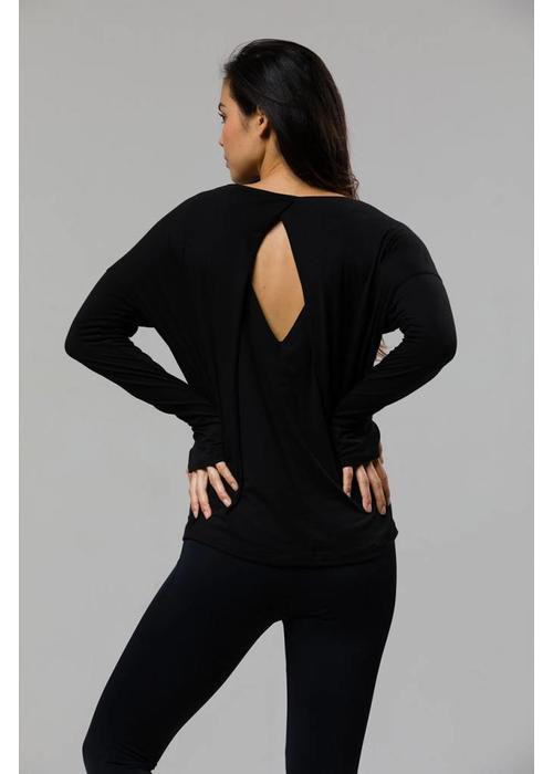 Onzie Onzie Diamond Back Top - Black
