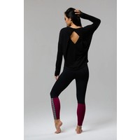 Onzie Diamond Back Top - Black