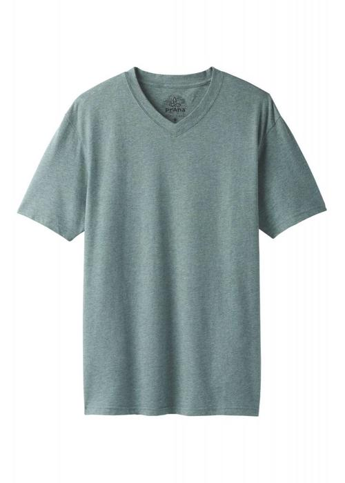 PrAna PrAna V-Neck - Starling Green Heather