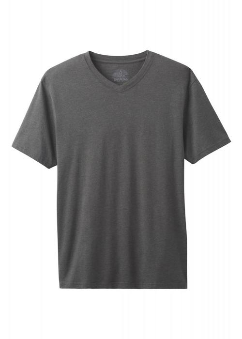 PrAna PrAna V-Neck - Charcoal Heather