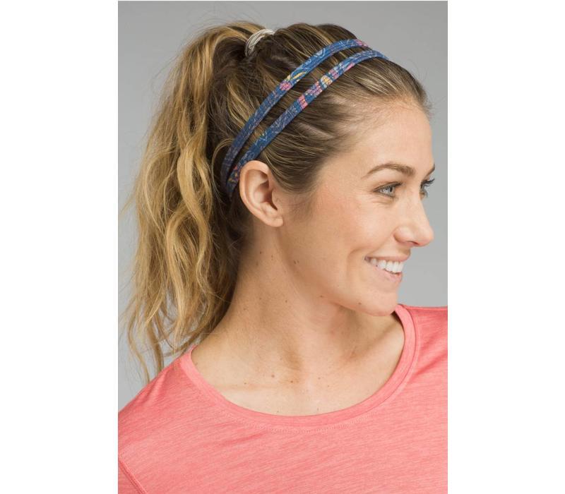 PrAna Printed Double Headband - Blue Sierra