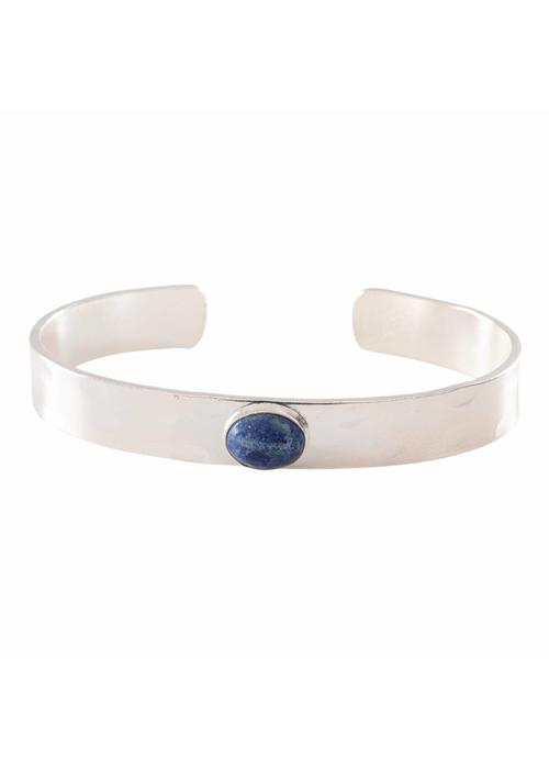 A Beautiful Story A Beautiful Story Liberty Zilveren Armband - Lapis Lazuli