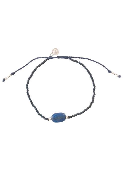 A Beautiful Story A Beautiful Story Winter Silver Bracelet - Lapis Lazuli