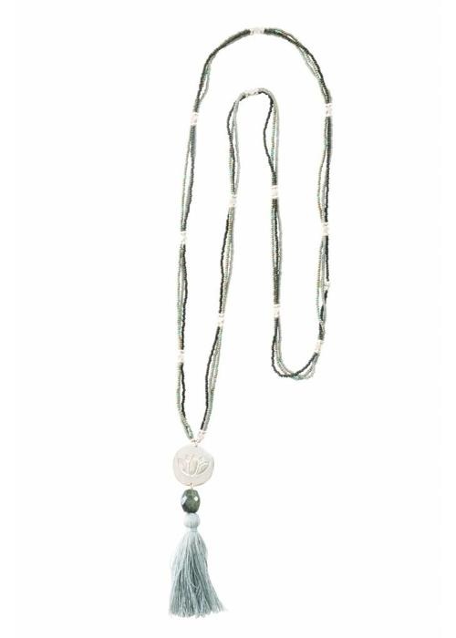 A Beautiful Story A Beautiful Story Easy Silver Necklace - Labradorite
