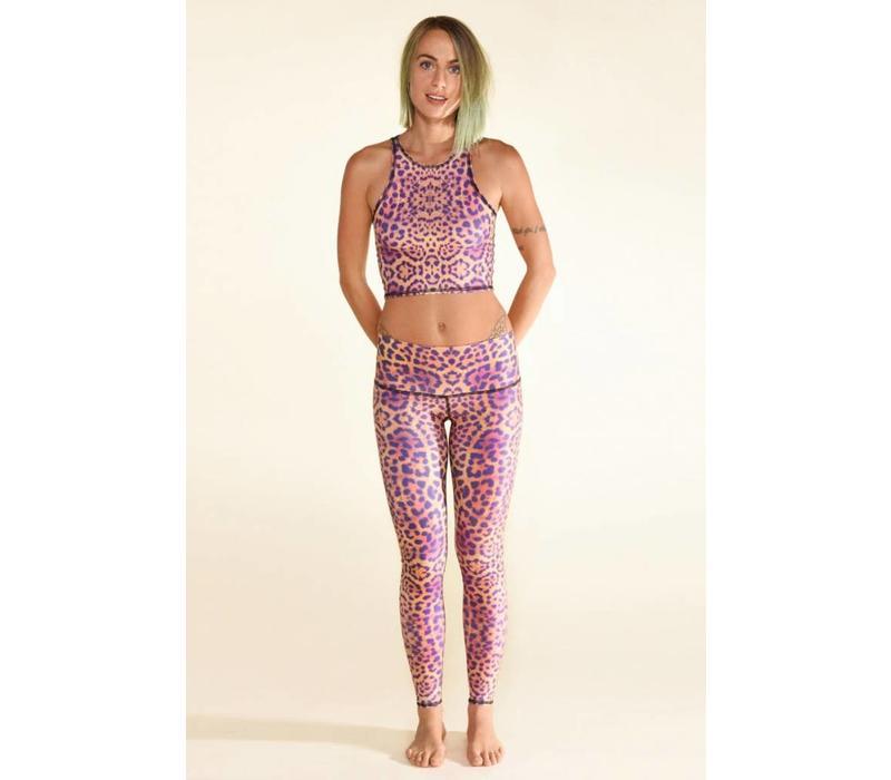Teeki Yoga Legging - Purple Awakening