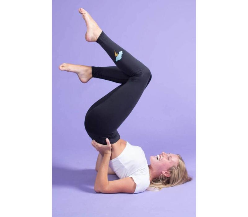 Teeki Yoga Legging - Midnight Bandit