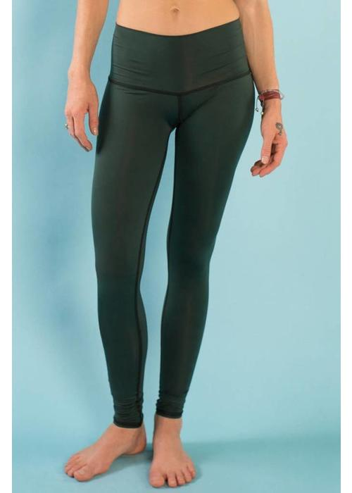 Teeki Teeki Yoga Legging - Hunter Green