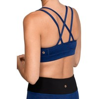 Manduka Cross Strap Bra - New Moon Melange