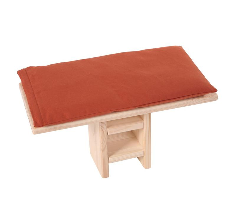 Meditation Bench Cushion - Burgundy