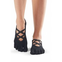 Toesox Yoga Sokken Elle Dichte Tenen - Zwart