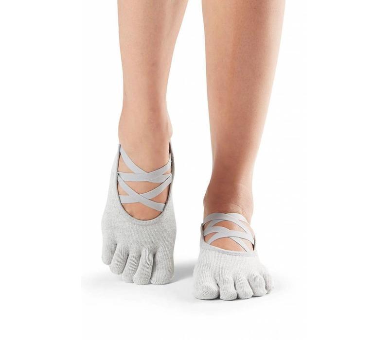 Toesox Yoga Sokken Elle Dichte Tenen - Blizzard