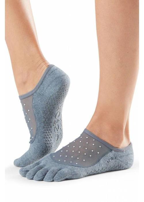 Toesox Toesox Yoga Sokken Luna Dichte Tenen - Icicle